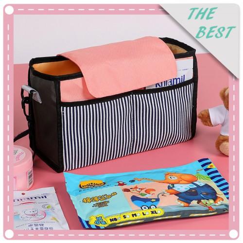 韓版推車掛包 嬰兒收納包 單肩包 媽媽包 外出包 大容量媽咪包
